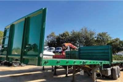SA Truck Bodies Flat deck SA Truck Bodies Superlink Flatdeck Trailers