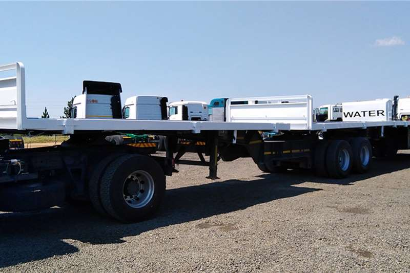 SA Truck Bodies Trailers Flat deck SA TRUCK BODIES SUPERLINK FLATDECK TRAILER 1995