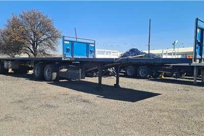 SA Truck Bodies Flat deck Super Link Trailers