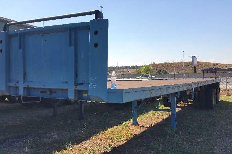 SA Truck Bodies Trailers Flat deck Tridem Flatdeck 2004