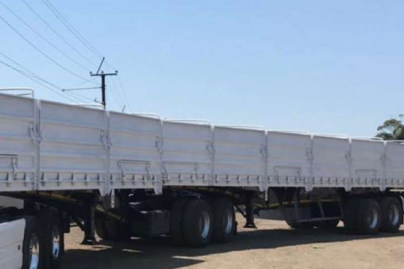 SA Truck Bodies Trailers Grain carrier 1.2 m High sides 2015