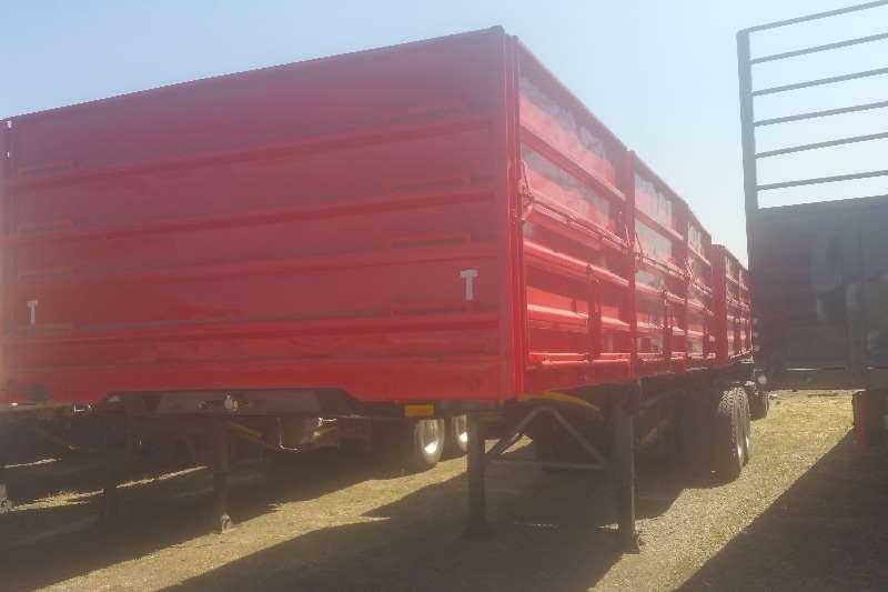 SA Truck Bodies Trailers Grain carrier Dropside Side Tipper Superlink 2011