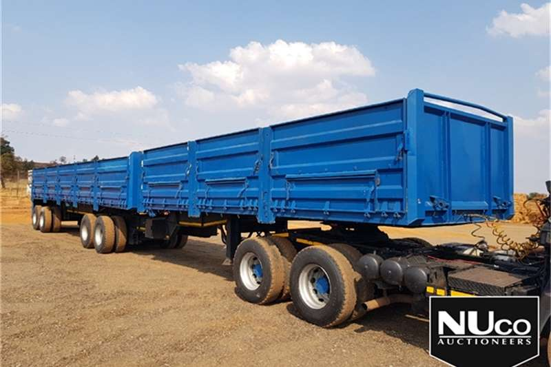 SA Truck Bodies HIGH SIDE DROPSIDE LINK Trailers