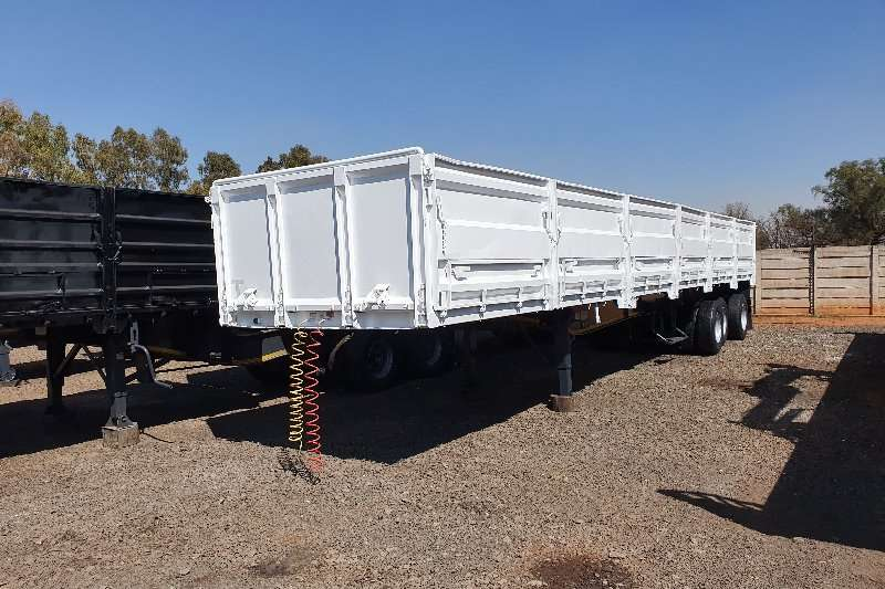 SA Truck Bodies Trailers High sides 13.5m + 1.2m sides + container locks 2007