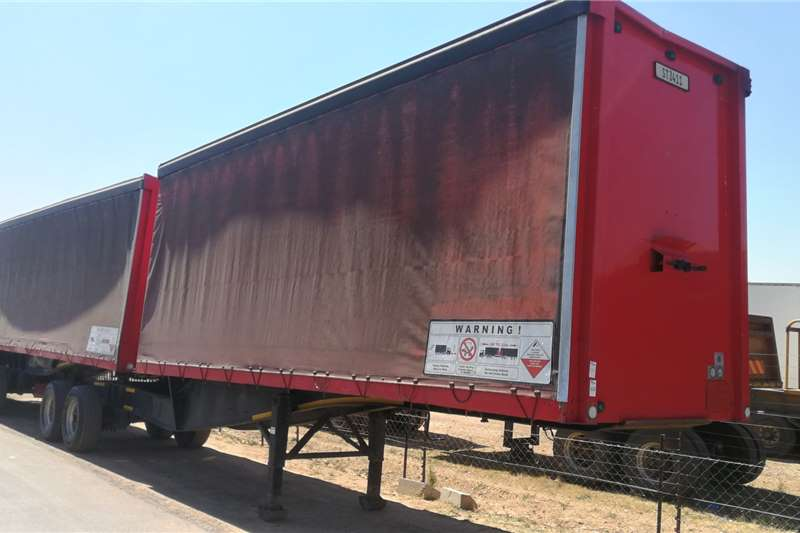 SA Truck Bodies Interlink 10.7M x 7.2M Trailers