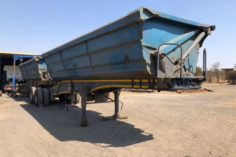 SA Truck Bodies Trailers Interlink 2010 45 Cubic M Interlink Side Tipping Trailer 2010
