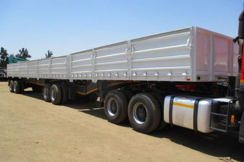 SA Truck Bodies Trailers Interlink SA TRUCK BODIES INTERLINK HIGH SIDE D/SIDE 2011