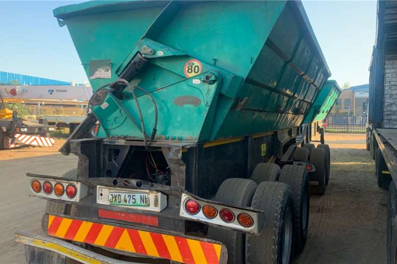 SA Truck Bodies INTERLINK SIDE TIPPER Trailers