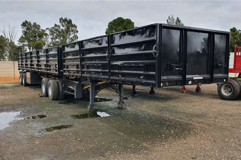 SA Truck Bodies Trailers Mass side 6x12m super link + 1.2m sides 2016