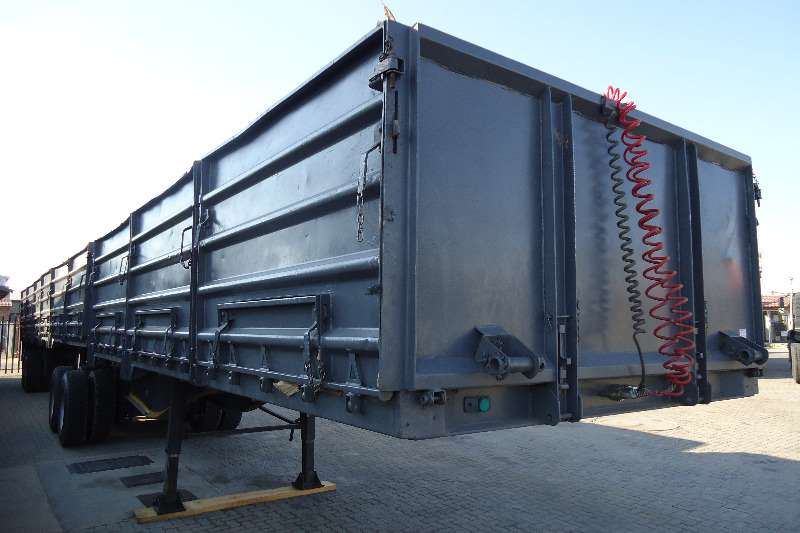 SA Truck Bodies Trailers Mass side SATB MASSIDE SUPERLINK 1.2M SIDES 2007