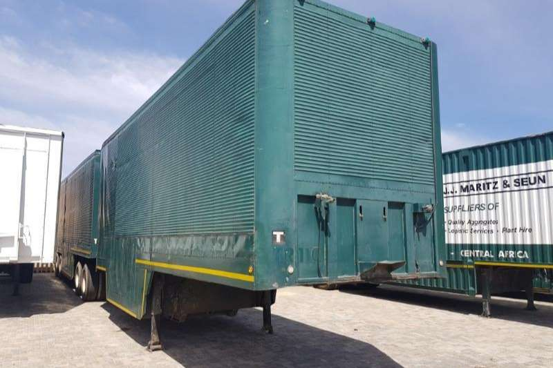 SA Truck Bodies Trailers Pantech Closed Body 2007