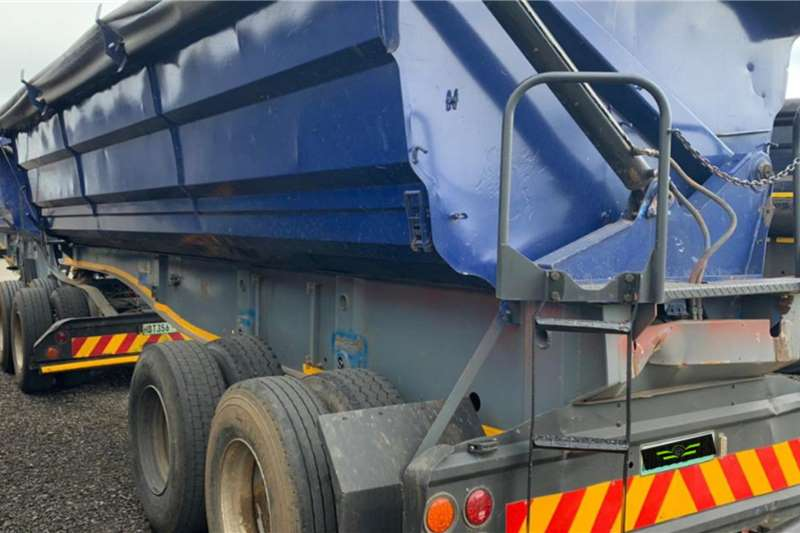 SA Truck Bodies SA Truck Bodies 45m3 Side Tipper Link Trailers