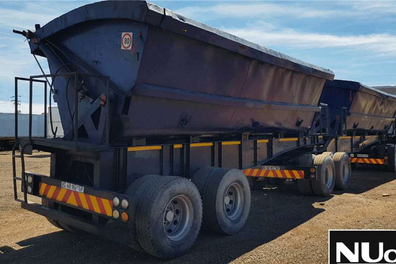 SA Truck Bodies SA TRUCK BODIES INTERLINK SIDE TIPPER TRAILER Trailers