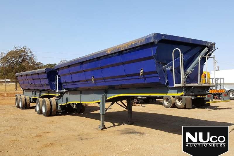 SA Truck Bodies Trailers SA TRUCK BODIES SIDE TIPPER LINK TRAILER