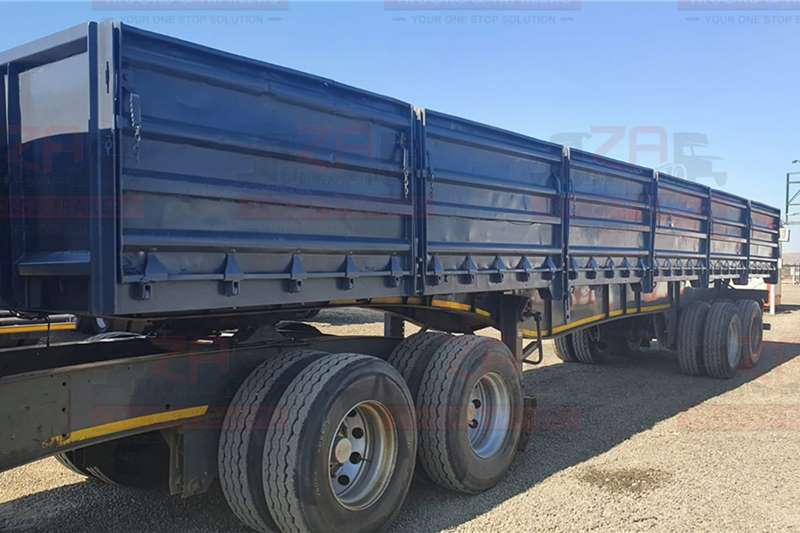 SA Truck Bodies Trailers SA TRUCK BODIES TRAILER WITH 1.2m DROP SIDES 2013