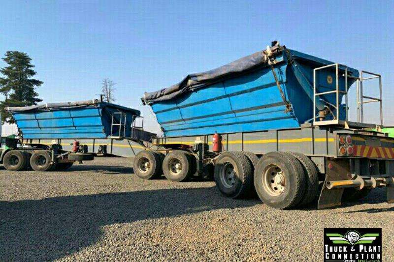 SA Truck Bodies Trailers Side tipper 2010 SA Truck Bodies 40m3 Side Tipper Link 2010