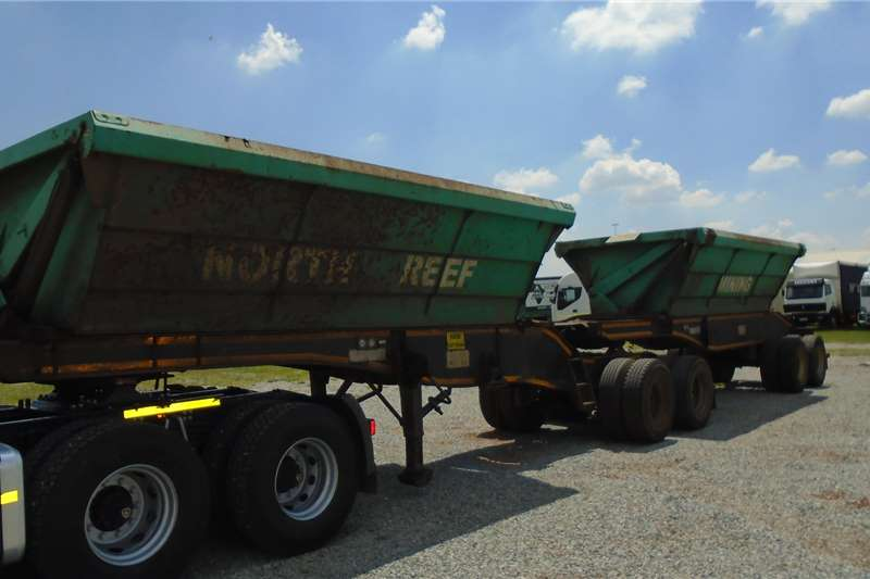 2014 Sa Truck Bodies Side Tipper Trailers For Sale In Gauteng On Agrimag