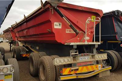 SA Truck Bodies Side tipper Trailers