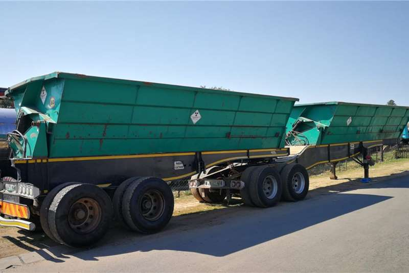 SA Truck Bodies Side tipper 36 Cube Trailers