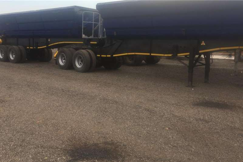 SA Truck Bodies Trailers Side tipper 40 cube Side tipper trailer link 2011