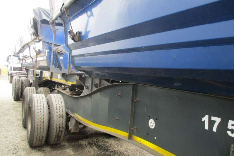 SA Truck Bodies Trailers Side Tipper 40m Link's 2013