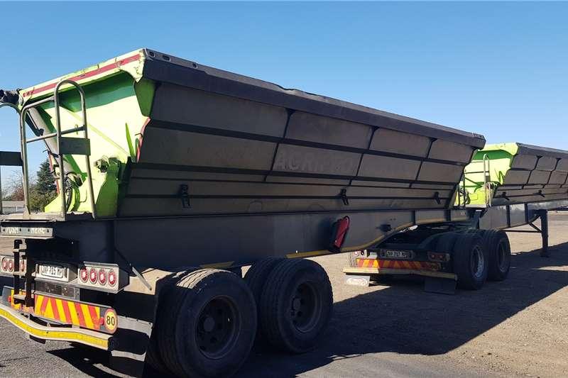 SA Truck Bodies Side tipper 40m3 Interlink Trailers