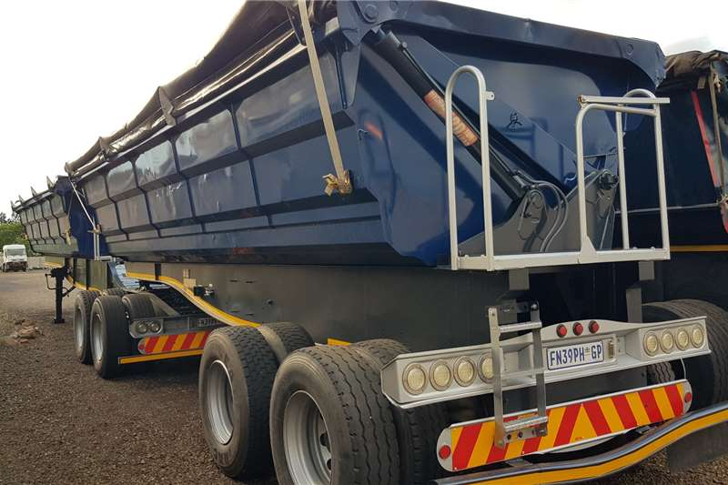 SA Truck Bodies Side tipper 40m3 Refurbished, Serviced, New Tarps Trailers