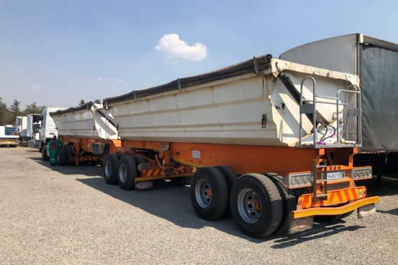 SA Truck Bodies Trailers Side tipper 45m³ Interlink Side Tipper Trailer 2017