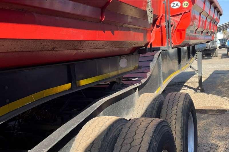 SA Truck Bodies Side tipper 45m³ Interlink Side Tipper Trailers Trailers