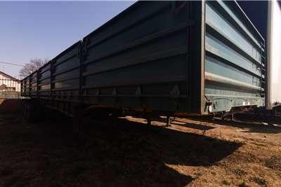 SA Truck Bodies Side tipper Dropside Side Tipper Tridem Trailers