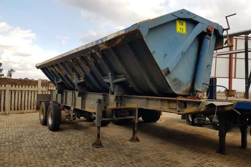 SA Truck Bodies Trailers Side tipper REAR TRAILER 2005