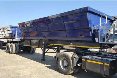 SA Truck Bodies Side tipper S A TRUCK BODIES 45 CUBE SIDE TIPPER Trailers