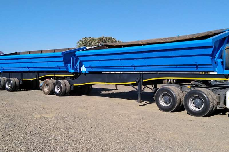 SA Truck Bodies Trailers Side tipper SA TRUCK BODIES 45CUBE  SIDE TIPPER 2014