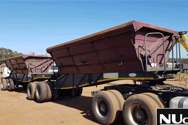 SA Truck Bodies Trailers Side tipper SA TRUCK BODIES SIDE TIPPER LINK 2012