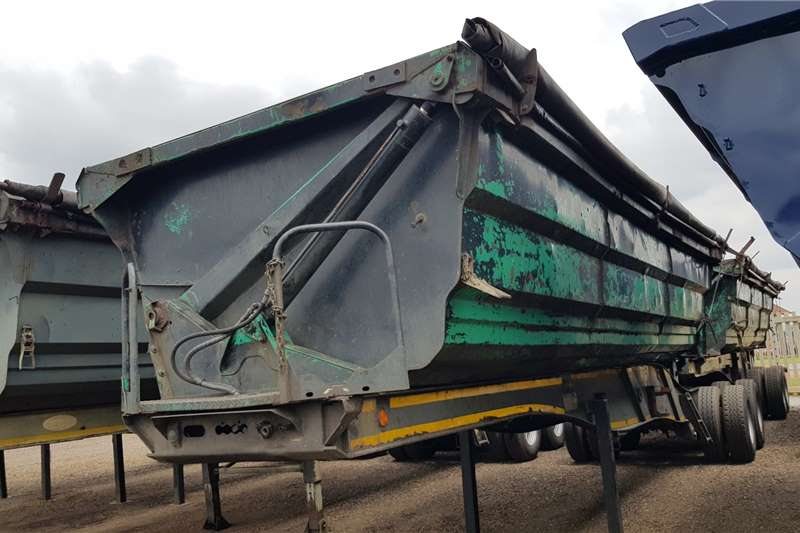 SA Truck Bodies Trailers Side tipper SATB 45cube Interlink 2010