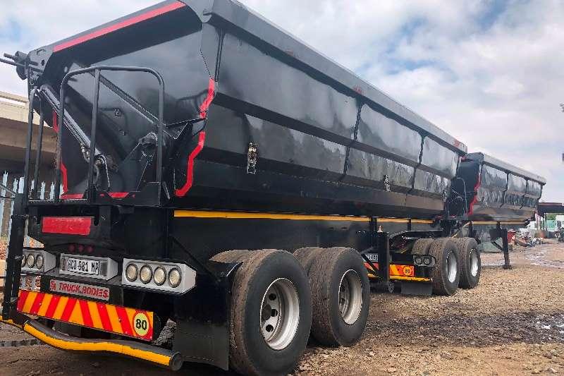 SA Truck Bodies Trailers Side tipper SATB 50 CUBE SIDETIPPER INTERLINK 2013