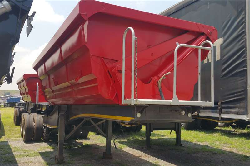 SA Truck Bodies Trailers Side tipper Side tip link 2013