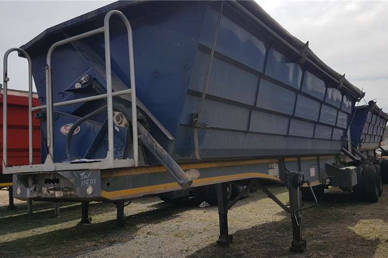 SA Truck Bodies Trailers Side Tipper Side Tip Link 2017