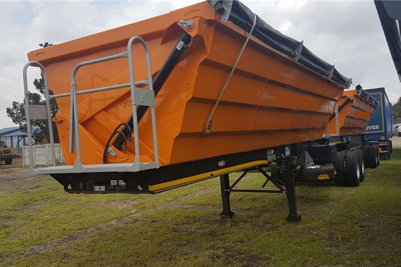 SA Truck Bodies Trailers Side tipper Side Tip Link 2020