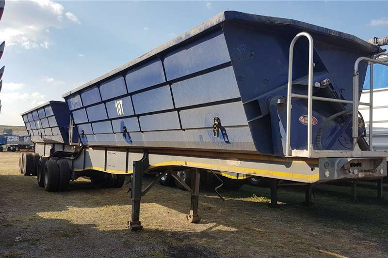 SA Truck Bodies Trailers Side tipper Side tip link 45m3 2017