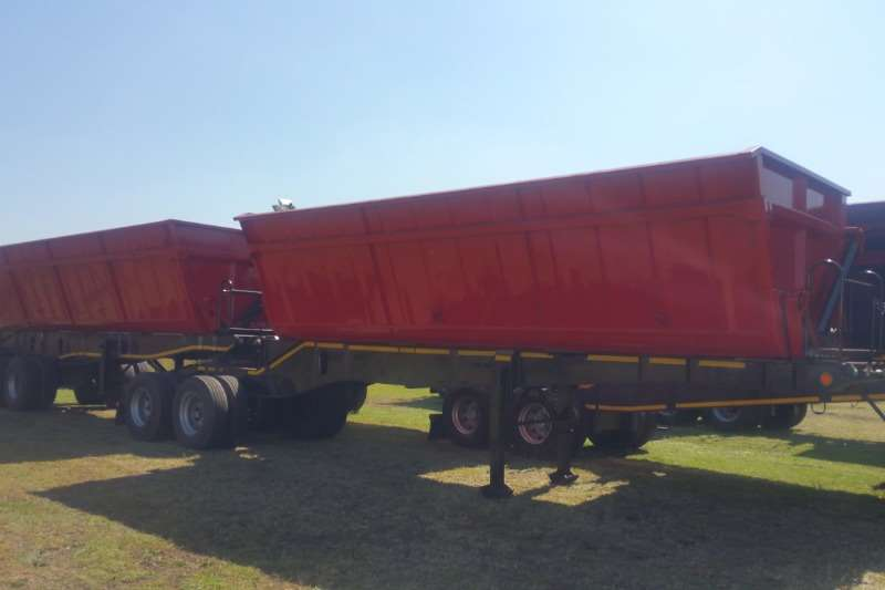 SA Truck Bodies Trailers Side tipper Side Tip Link 45m3 2019