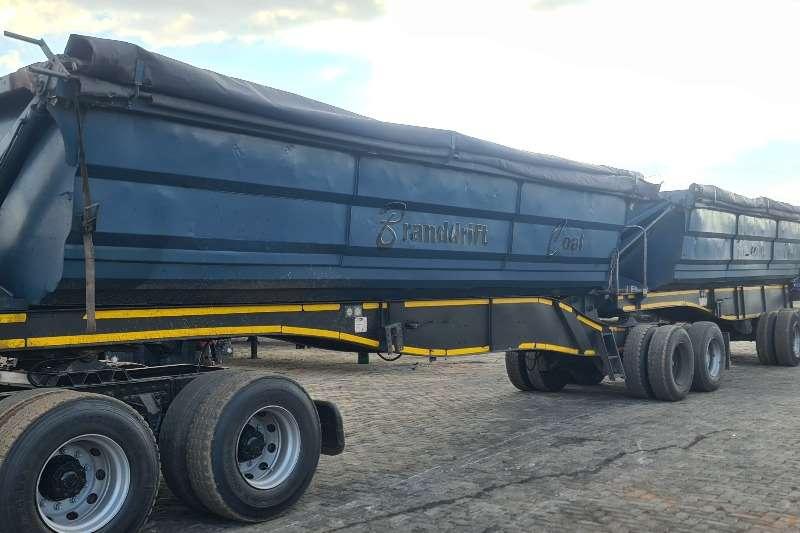 SA Truck Bodies Side tipper SIDE TIPPER Trailers