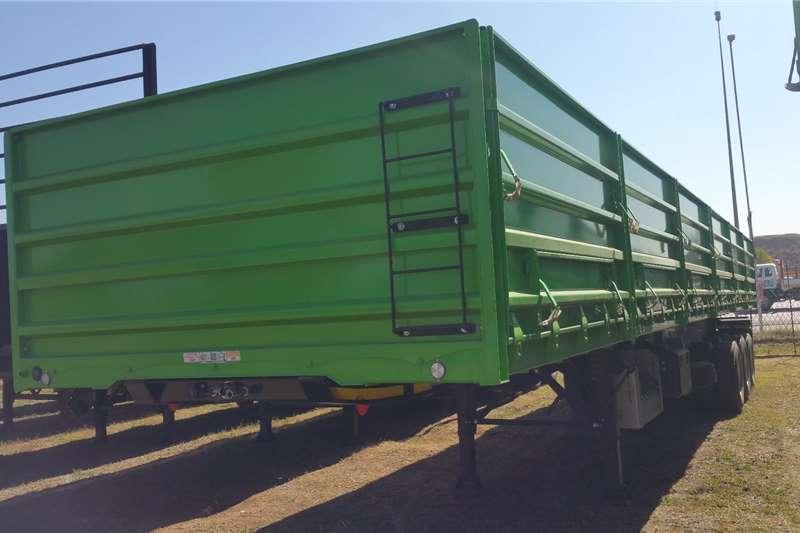 SA Truck Bodies Trailers Side tipper Tridem Dropside Side Tipper 2017