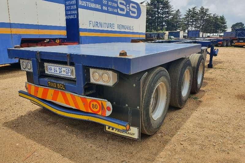 SA Truck Bodies Skeletal Tri axle container trailer Trailers