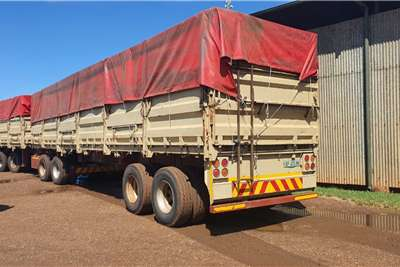 SA Truck Bodies SUPER LINK MASS SIDE Trailers