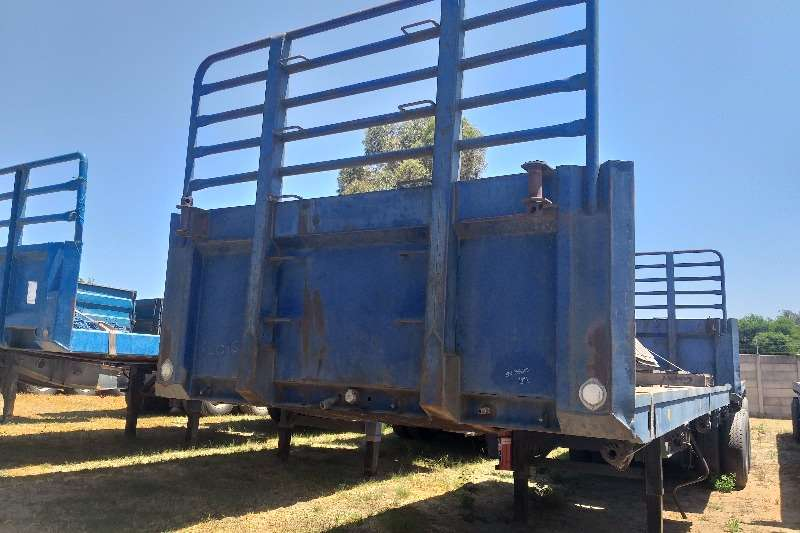 SA Truck Bodies Trailers Superlink 1995 SA Truck Bodies Superlink Flat Deck 1995