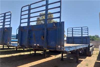 SA Truck Bodies Superlink 1995 SA Truck Bodies Superlink Flatdeck Trailers