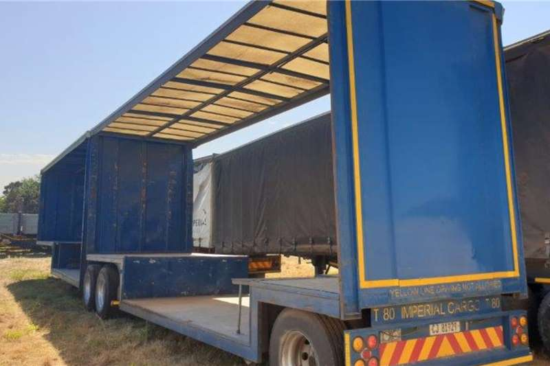 SA Truck Bodies Superlink 1996 SA Truck Bodies Superlink Tautliner Trailers