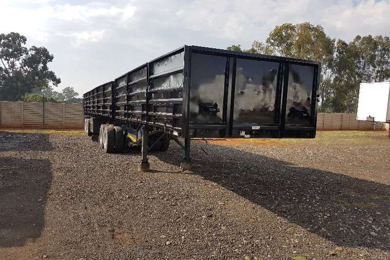 SA Truck Bodies Trailers Superlink 6 x 12m + 1.2m sides 2015