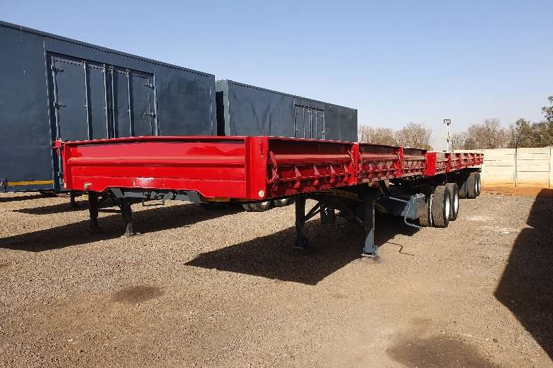 SA Truck Bodies Trailers Superlink 6x12m superlink 3 x 6m bins + container locks 2014
